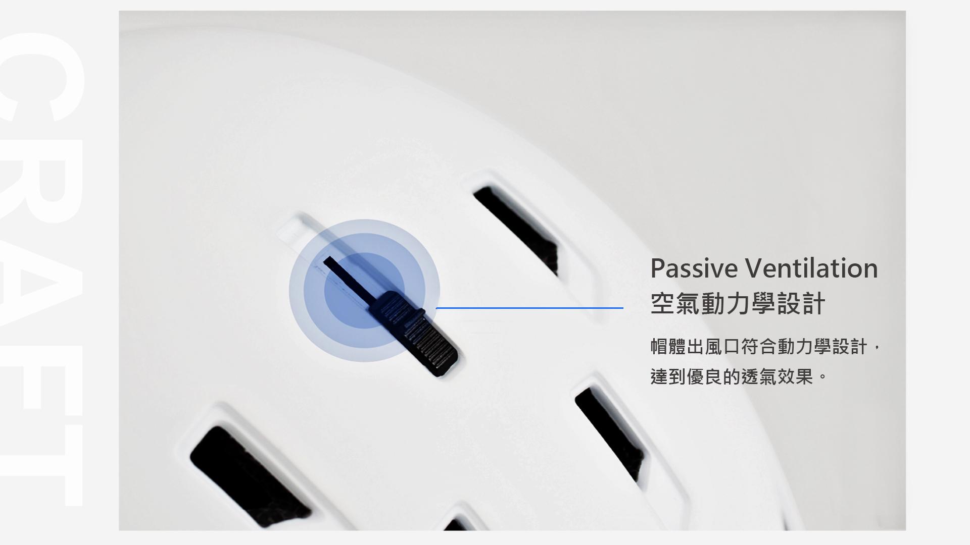 空氣動力學設計 passive ventilation