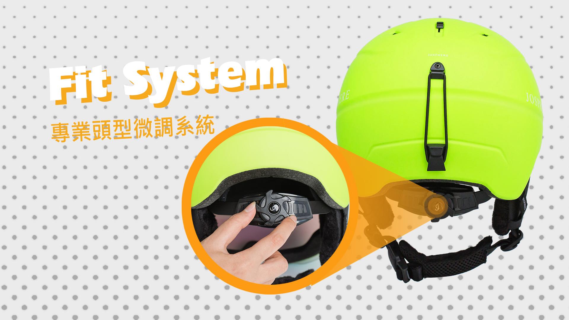 fit system 頭型微調系統