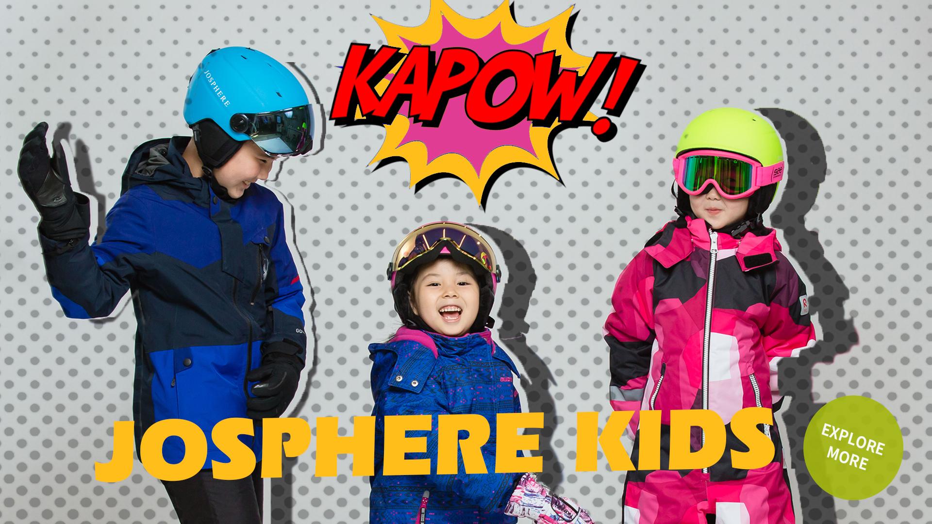 josphere kids kapow kids helmets safe luxury colorful