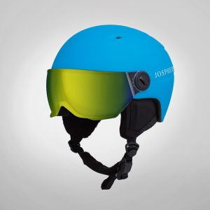josphere kids kapow kids helmets SKW1 Visor Model-Blue
