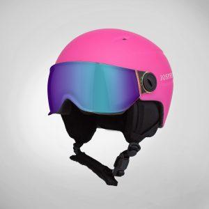 josphere kids kapow kids helmets SKW1 Visor Model-Pink