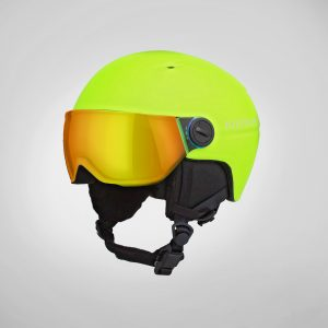 josphere kids kapow kids helmets SKW1 Visor Model-Yellow