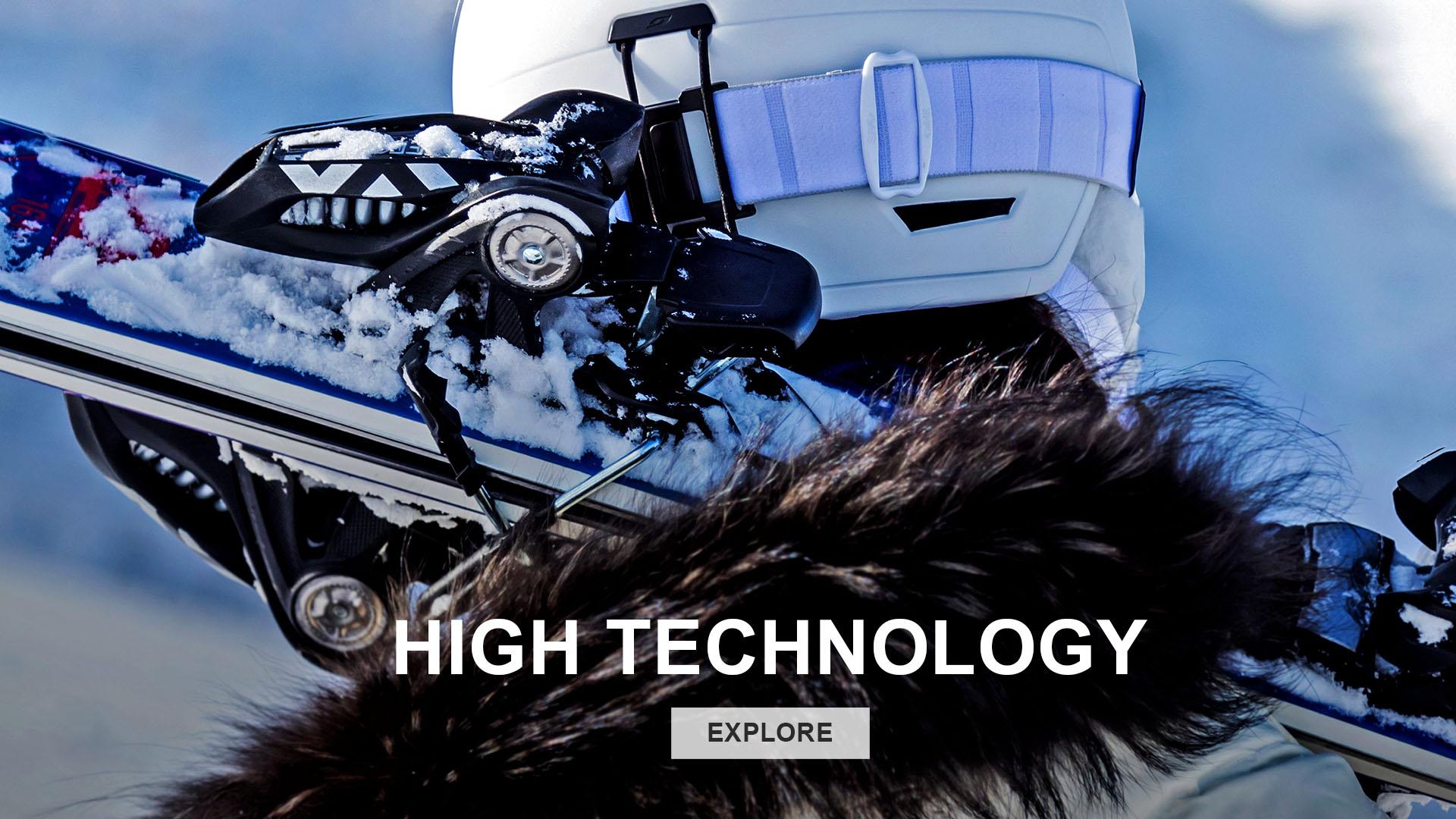 HIGH TECHNOLOGY 高科技 滑雪頭盔 滑雪安全帽